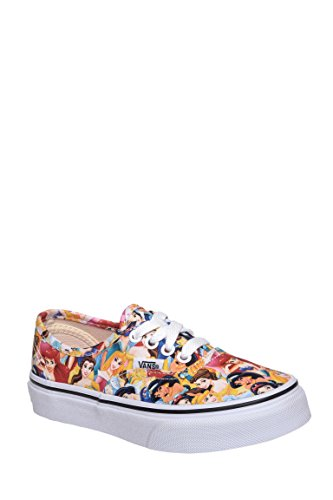 Girl's Disney Multi Princess Authentic Low Top Sneaker