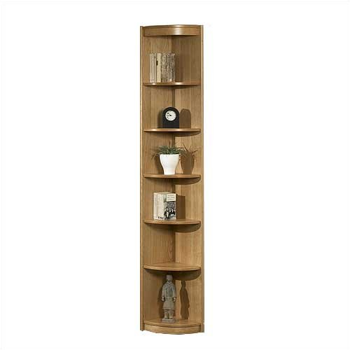 "Tvilum-Scanbirk 65011-11 Classic Soft 85"" H Six Shelf Outside Corner Bookcase Finish: Teak"