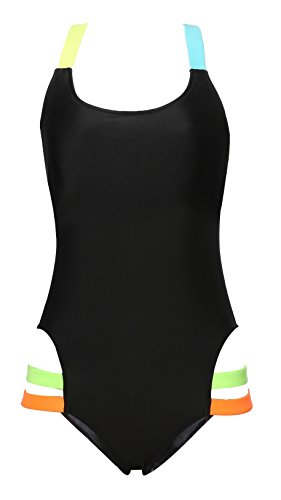 MiYang Women's Fluorescent Halter Neck One Piece Monokinis Swimsuit Bathing Suit Tag 3XL(US XL:14) (Plus Size Stores)