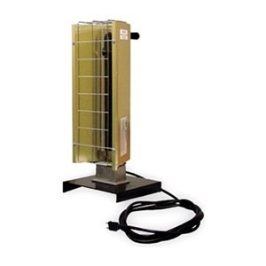 Portable Heavy Duty 6,143 BTU Infrared Utility Electric Space Heater