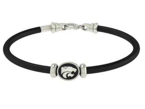 Kansas State Wildcats Rubber Bracelet
