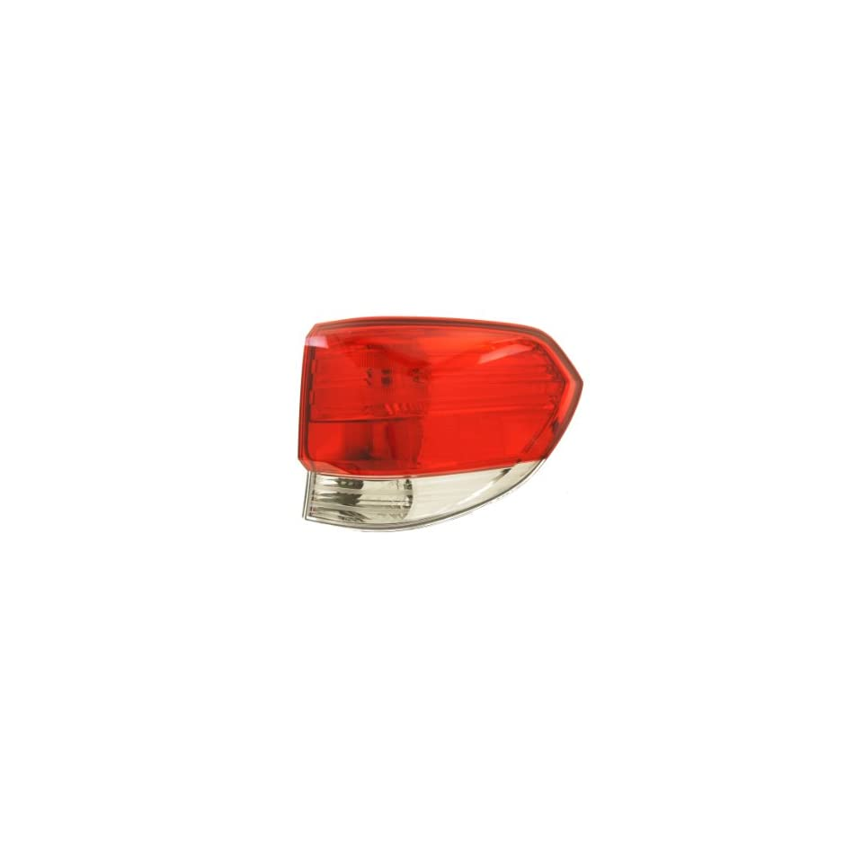 Genuine Honda Parts 33501-S0X-A01 Passenger Side Taillight Lens//Housing