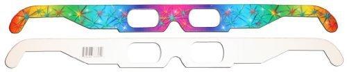 3D Fireworks Glasses w Rainbow Frames - Pattern Diffraction Lenses- Pack of 30, Model: , Electronic Store