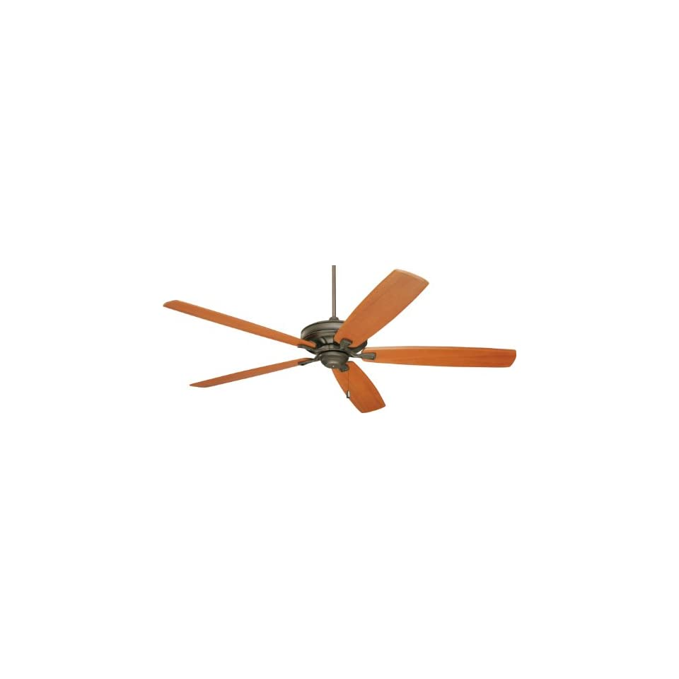 Emerson CF787ORB Carrera Grande Indoor/Outdoor Ceiling Fan, 54 Inch, 60 Inch or 72 Inch Blade Span, Oil Rubbed Bronze Finish, Blades Sold Separately