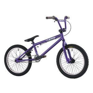 Hoffman Bikes 18-Inch Ontic BMX Bike Ano Purple & FREE MINI TOOL BOX (fs)
