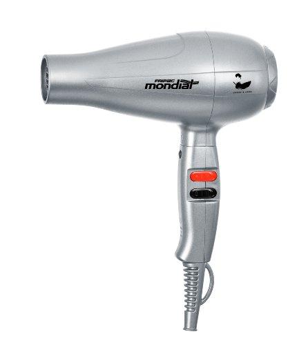 Fripac Mondial - Secador ligero y silencioso, color plata