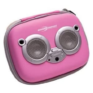 Sonic Impact i-P9 Portable iPod and Speakers - Pink (5020)