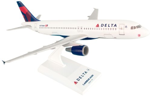 Daron Skymarks Delta 320 New Livery Airplane Model Building Kit, 1/150-Scale (Delta Airlines Model compare prices)
