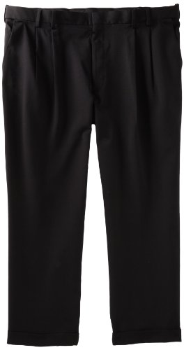 Van Heusen Men's Big & Tall Cuffed Crosshatch Pant, Black, 52W x 29L (Van Heusen Dress Pants compare prices)