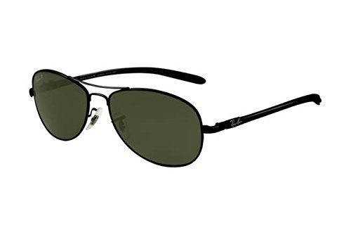 [Casual fashion sunglasses Aviator sunglasses Tech RB8301 Sunglasses Black Frame Green Polar AJV] (Iconic Women In History Costumes)