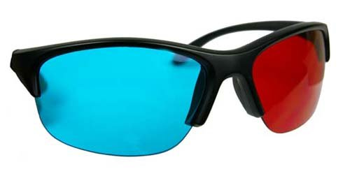 Pro-Ana (TM) PROFESSIONAL 3D Glasses for Red/Cyan 3D Movies - Technological Breakthrough