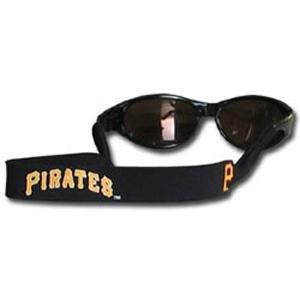 Pittsburgh Pirates Neoprene Strap Holder Croakies for Sunglasses or Eyeglasses Officially Licensed MLB Baseball Team Logo