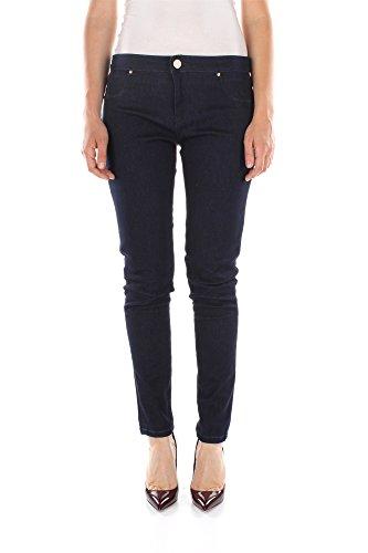 Jeans Pinko Donna Cotone Blu Denim 1J100RY1AXG22 Blu 32