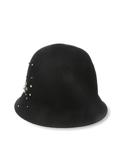 Giovannio Women's Stud Hat, Black