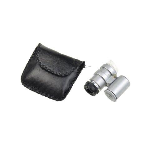 BestDealUSA 45x Magnification Portable Mini LED Microscope Jewelers Loupe with LED Light