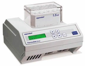 ThermoStat Plus Interchangeable Block Heater; Up To 99 deg. C; Down to -5 deg. C by Eppendorf