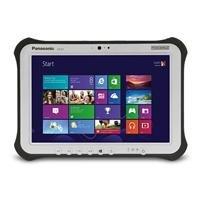 Panasonic Toughpad FZ-G1 - 10.1 - Core i5 3437U - Windows 7 Pro 64-bit / 8 Pro downgrade - 4 GB RAM - 128 GB SSD