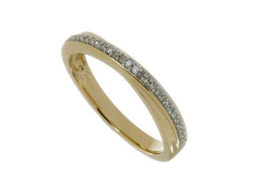Ladies' 9ct Yellow Gold Diamond Eternity Ring