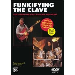 Funkifying Clave: Afro Cuban Grooves Bass & Drums [DVD] [Import]