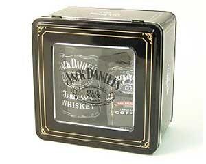 Jack Daniels Barrel mug with JD coffee