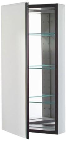 Robern CB-MT16D4FBLL  M-Series Left-Hand Flat Bevel Mirror Medicine Cabinet with Defogger and Light