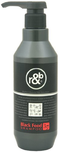 R&B Black Food 3.7 Shampoo 15.87oz