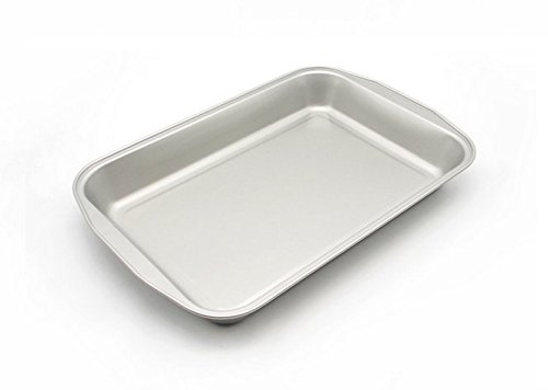 Astra Gourmet 16 x 11 Inch Large Roasting Pan/Baking Pan with Ultra Nonstick Coating