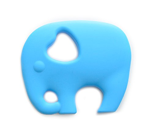 Baby Gamo Elephant Teether Blue - 1