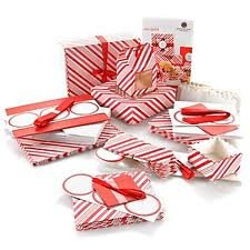 Martha Stewart Candy Cane Food Pkg Collection Treat Boxes Huge Set