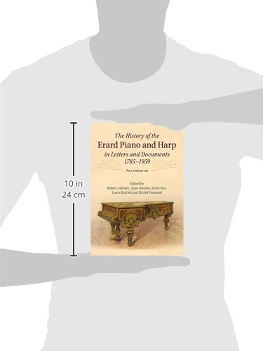 The History of the Erard Piano and Harp in Letters and Documents, 1785-1959 2 Volume Set