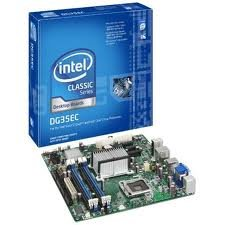 Intel BOXDG35EC Intel G35 Core 2 Quad Socket-LGA775 1066MHZ DDR2 Motherboard