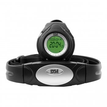 Cheap Exclusive Pyle PHRM38 Heart Rate Monitor Watch w/ 3D Walking/Running Sensor By PYLE (MGDPHRM38)