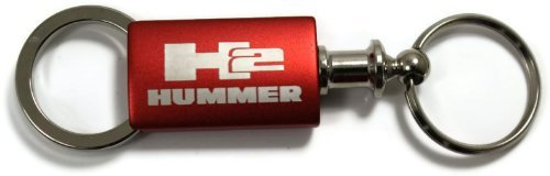 dantegts-hummer-h2-valet-llavero-authentic-logo-llavero-keytag-lanyard-rosso