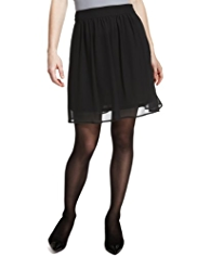 M&S Collection Chiffon Mini Skirt