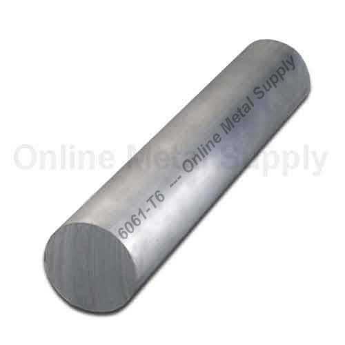 Online Metal Supply 6061-T6 Aluminum Round Rod 6.5