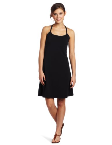 B004KPC8CO prAna Women's Quinn Dress (Black, Large)