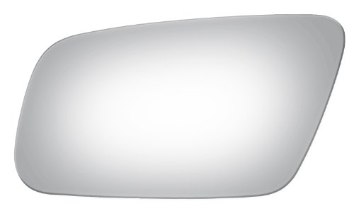 Audi A4, A6, A8, S4, S6, S8 Left Driver Replacement Mirror Glass Lens For Models W/O Auto Dimming