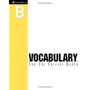 """vocabulary for the college bound student answers First-generation college-bound students need additional assistance preparing   3 (let individual students read a question and answer or use the """"football""""  o  explain the following basic vocabulary: (consider writing these."""