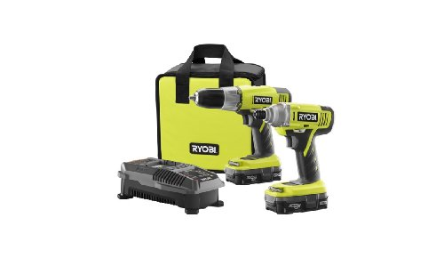 Ryobi One+ 18v Lithium-Ion Drill and Impact Driver Kit