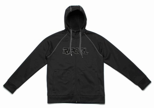 Ripcurl Morpho Men's Snow Fleece - Moonless Black, Medium