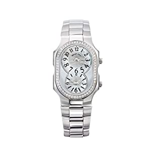 Philip Stein Large Case Diamond Quartz Watch - 2D-NFMOP-SS