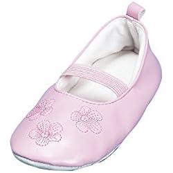 Playshoes Gymnastikschuhe, Balettschläppchen Blumen 208751, Mädchen Ballerinas, Pink (original 900), EU 30/31