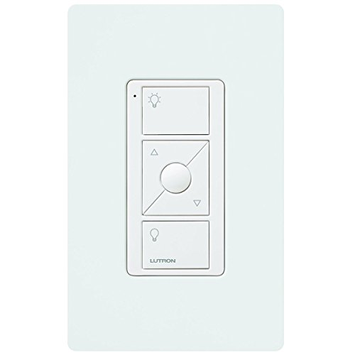lutron pj2 wall wh l01 pico remote control with wall mounting kit white new ebay. Black Bedroom Furniture Sets. Home Design Ideas