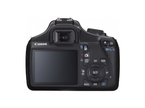 Canon EOS Rebel T3 12.2 MP CMOS Digital SLR with 18-55mm IS II Lens and EOS HD Movie Mode (Black): Rosewill