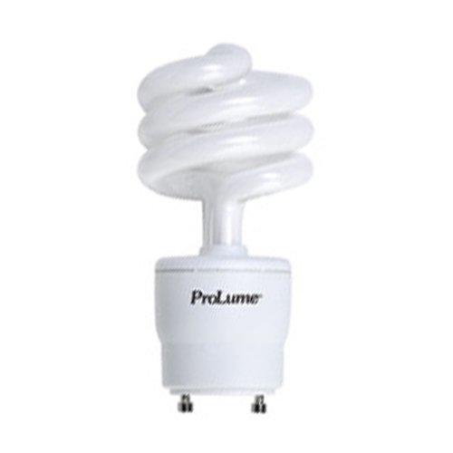 Halco 46521 - 18 Watt Gu24 Base Spiral Compact Fluorescent Light Bulb, 75 Watt Incandescent Equivalent, 5000K