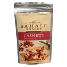 Sahale Snacks Glazed Nuts Cashews with Pomegranate + Vanilla, 4-Ounce Pouches (Pack of 6) ( Value Bulk Multi-pack)