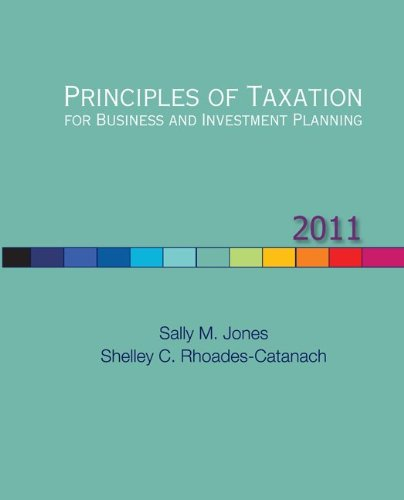 Principles of Taxation for Business and Investment...
