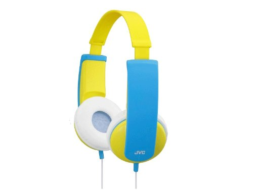 Jvc Hakd5Y Tiny Phones Kids Stereo Headphones - Yellow