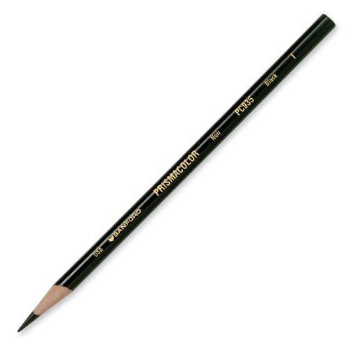 Prismacolor Premier Soft Core Colored Pencil, Black