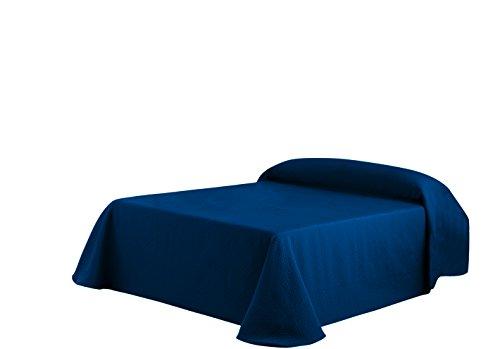 Eysa Gravel - Colcha, 270 cm, color azul